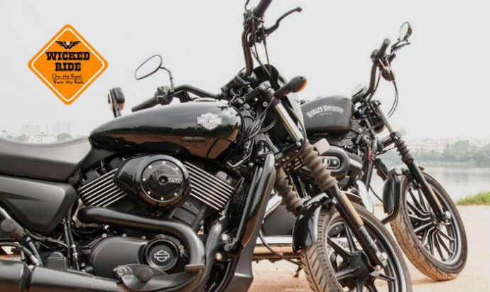 Cruise Around On A Harley Or Triumph For A Day With Wicked Ride!