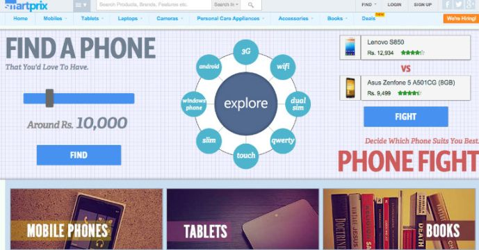Snapdeal Grabs Stake In Online Product Comparison Startup Smartprix