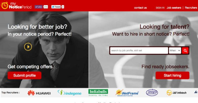 MyNoticePeriod Gets INR 18 Cr. From IDG Ventures India In Series A