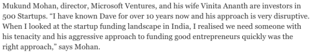 Screenshot From Outlook's Article in 2014