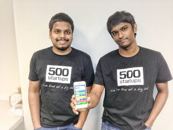 Me and my Co-founder Ram (on the right).