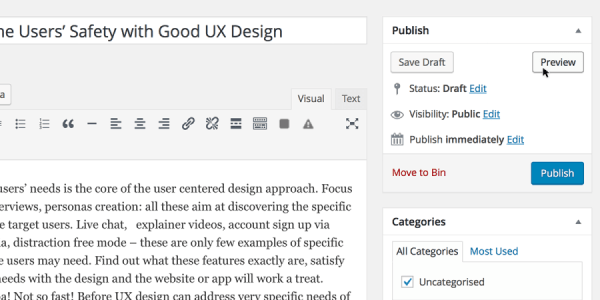 user-safety-preview-feature-wordpress