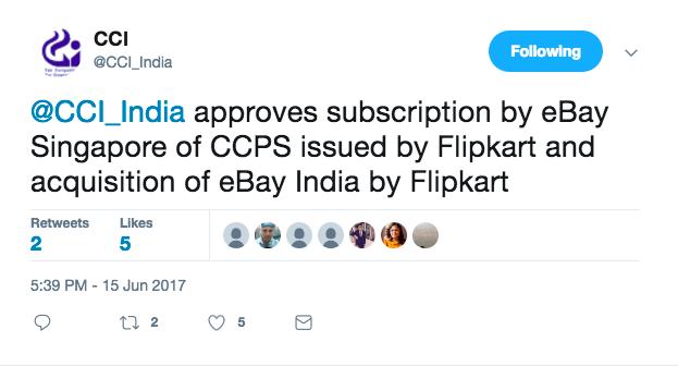 flipkart-ebay india-cci