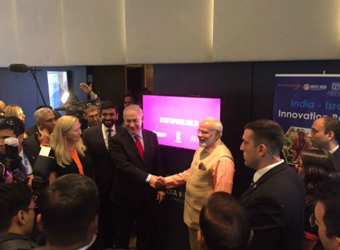 modi-india-israel-innovation bridge