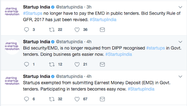 government tenders-startups-dipp