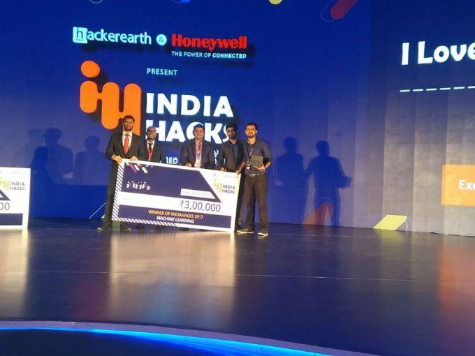 India Hacks-Hackathon-HackerEarth-Winners