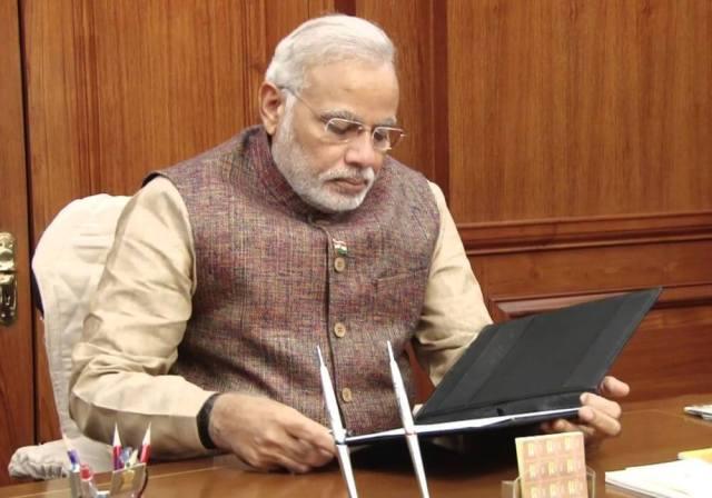 narendra modi-digital literacy-rural India