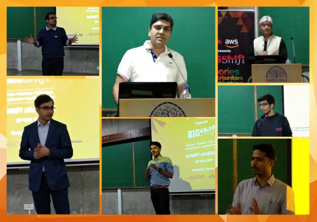 BIGShift Ahmedabad: A Glimpse Of The Enthralling Conversations With Three Veterans From The World Of Startups
