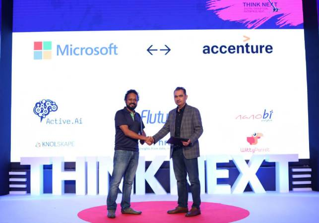 ThinkNext 2018: Microsoft Accelerator Partners With Accenture Ventures