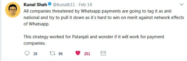 whatsapp-payttm-digital payments