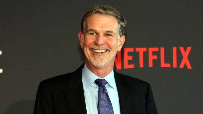 netflix-reed hastings-india