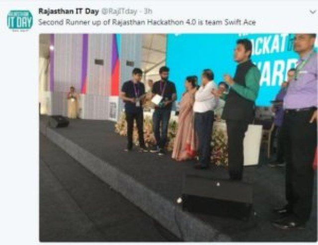 Rajasthan IT Day 2018: Meet The Three Winners Of Hackathon 4.0