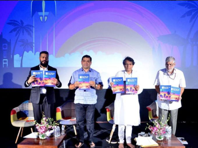 Union Minister Suresh Prabhu Launches Goa Startup Policy