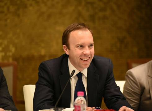 I Count on India Because of its Scale: Matthew Hancock, UK Digital And Culture Secretary