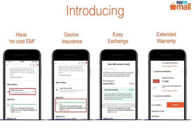 Paytm Mall Introduces No Cost EMI, Extended Warranty, Easy Exchange To Attract 10 Mn Customers