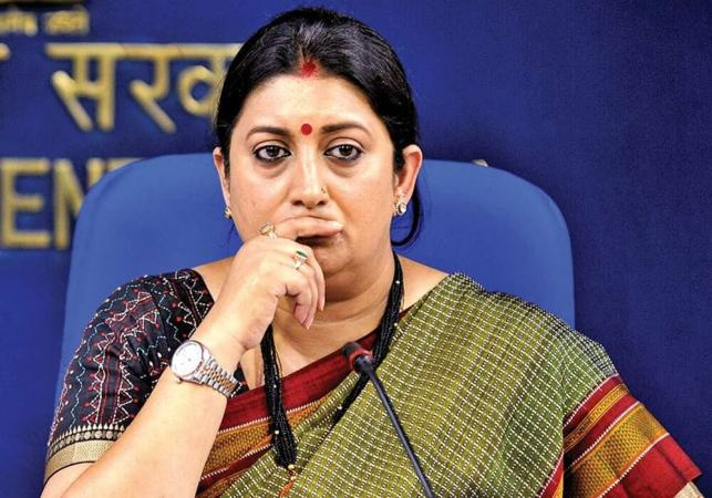 Laws, Ethics, and Rules Necessary in Digital Media: Union Minister Smriti Irani