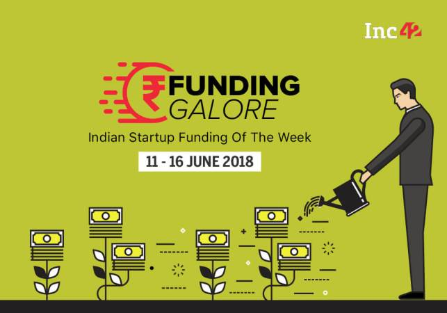 Funding Galore: Indian Startup Funding Of The Week [09-16 June 2018]