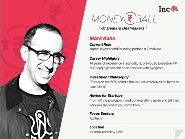 Moneyball: Mark Kahn Of Omnivore Partners Says Indian Agrotech Sector Is Ripe For Disruption