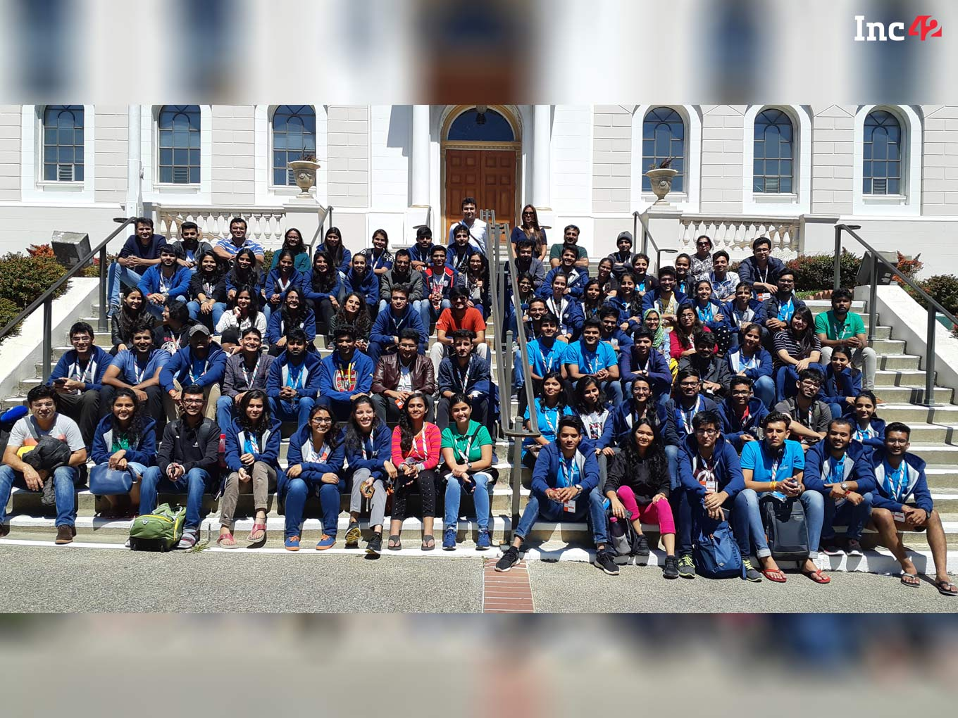 100 Students From Rajasthan Travel To Silicon Valley For The Student Startup Exposure Program