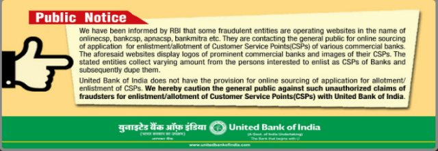 United Bank of India Stops Users From On Devices AePS Transactions By Private Banks
