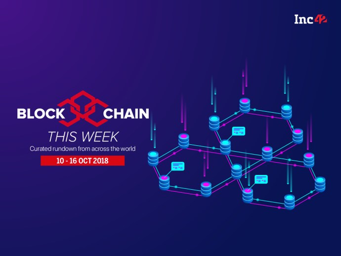 Blockchain This Week: IAMAI Forms Blockchain Committee And More