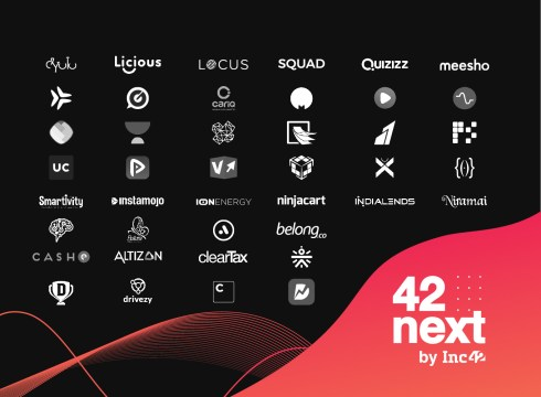 Inc42 Unveils 42Next — The 42 Most Innovative Startups In India