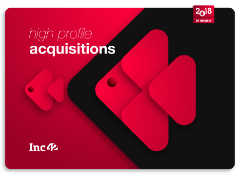 Top 10 High-Profile Startup Acquisitions In India