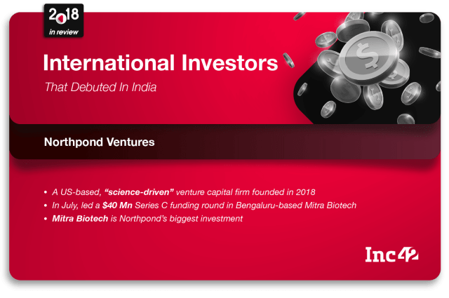 Northpond ventures India investment