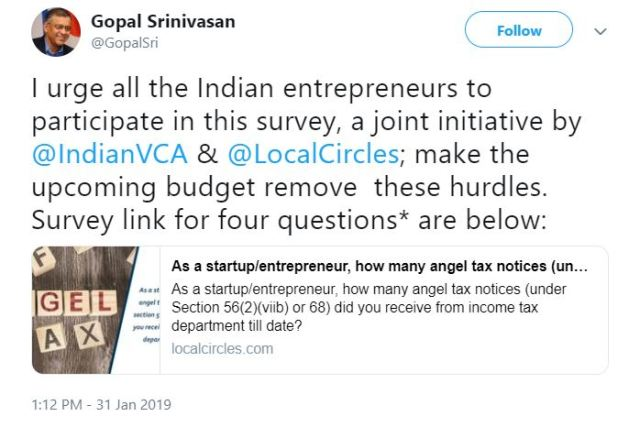 IVCA, LocalCircles Start Poll To Find Startups Served With Angel Tax Notices