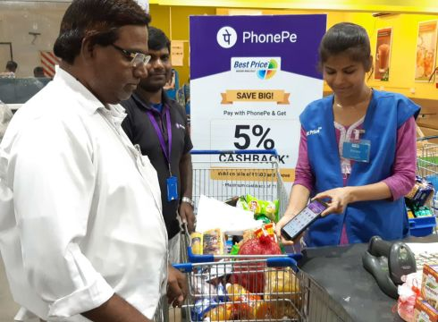 Walmart India Avails UPI Payment Option For Its Kirana Members Via PhonePe