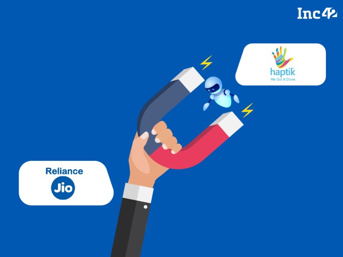 Exclusive: Reliance Is Acquiring Haptik For Over INR 200 Cr To Build India's Own Alexa