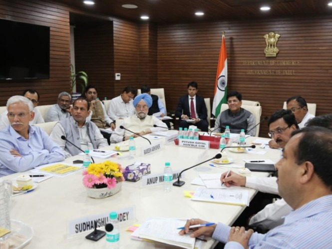 Commerce Minister Piyush Goyal Meets Ecommerce Cos
