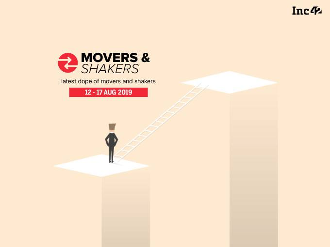 Movers and Shakers Of The Week [12 - 17 Aug]