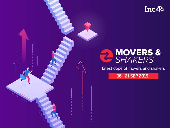 Movers and Shakers Of The Week [16 -21 Sept]