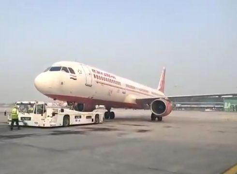 Air India Makes History With World's First Use Of Taxibot