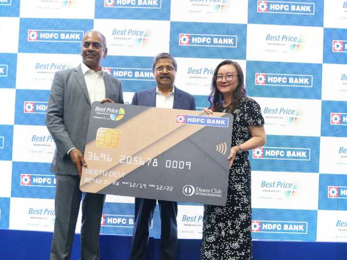 Walmart India Ties Up With HDFC Bank To Launch Co-Branded Credit Card
