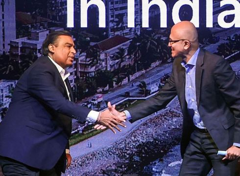 Microsoft, Reliance Cloud Partnership To Transform India, Says Ambani