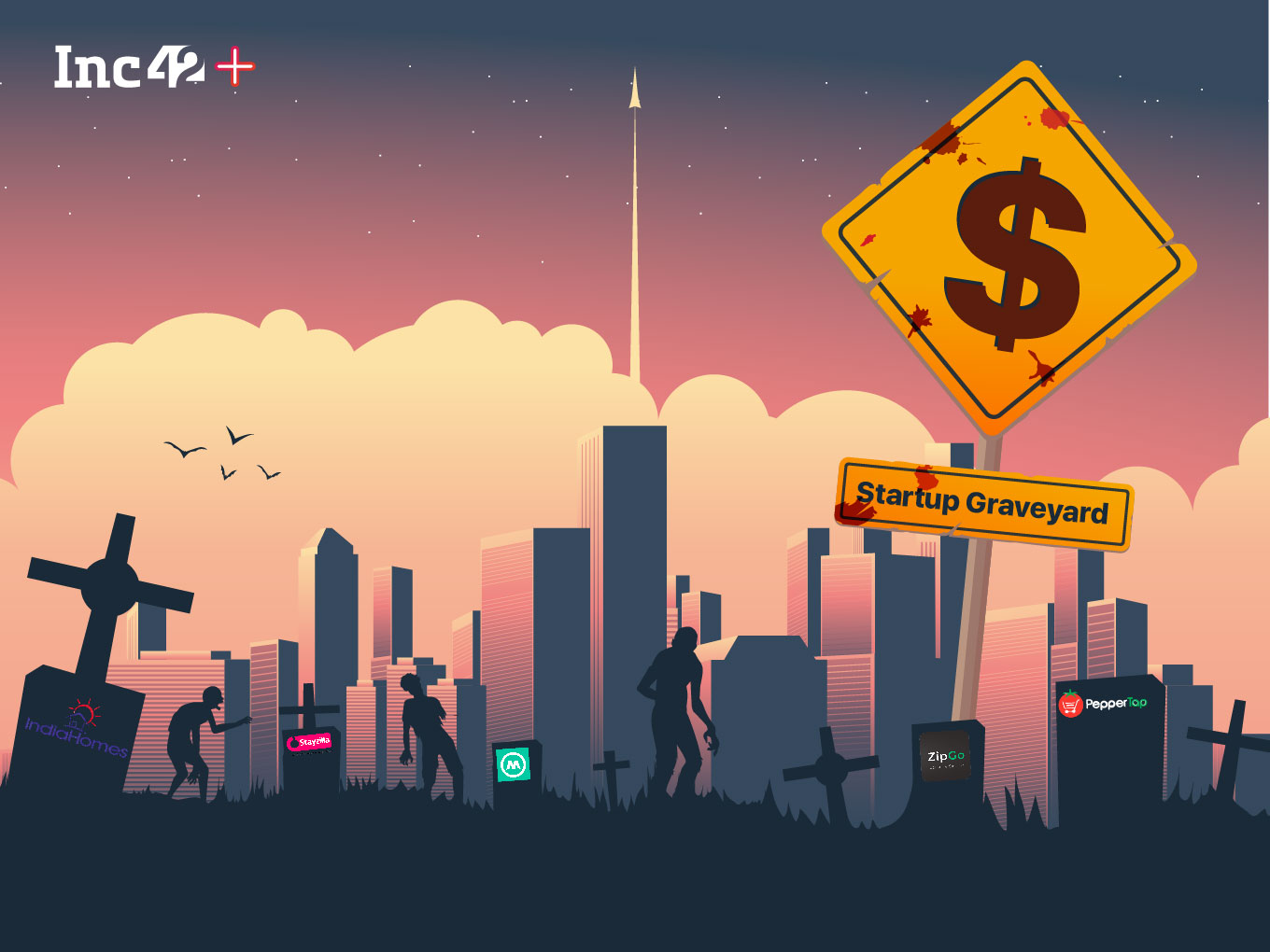 Startup Graveyard: $760 Mn Worth Venture Capital Lost In Indian Startup Shutdowns