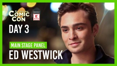 East European Comicon Day 3 Main Stage Panel - Ed Westwick
