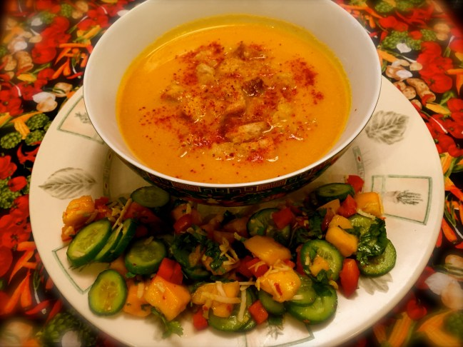 Golden Thai Butternut Squash Soup