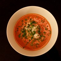 Tasty Tuesday ... Roasted Tomato Soup with Black Garlic
