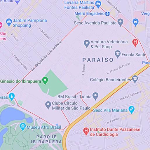 Bairro Paraíso São Paulo