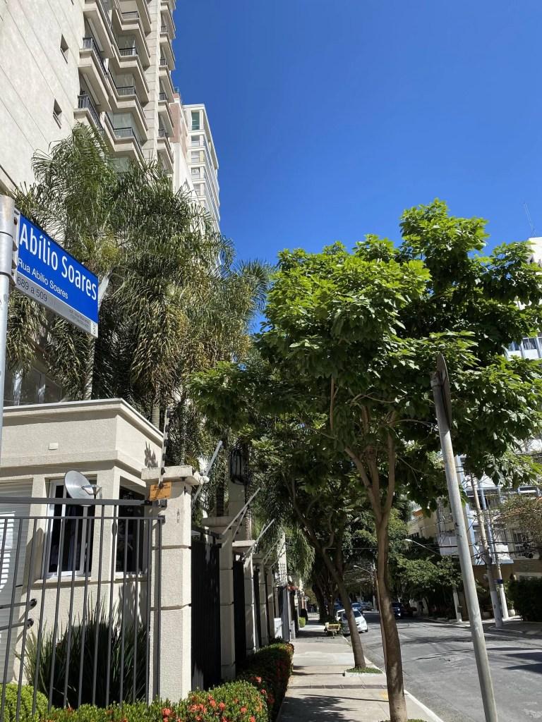 Rua Abílio Soares - Paraíso