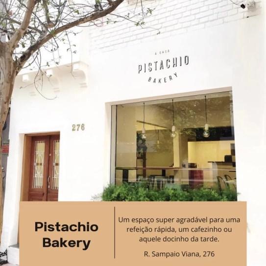 Pistachio Bakery, pão artesanal, doces, café