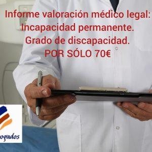 Informe de valoración médico-legal
