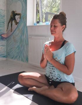 Yoga på företag