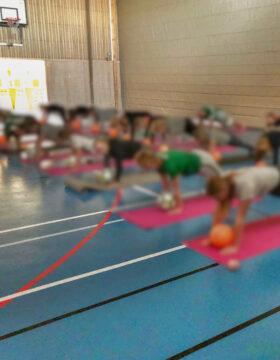 Yoga för idrottsförening