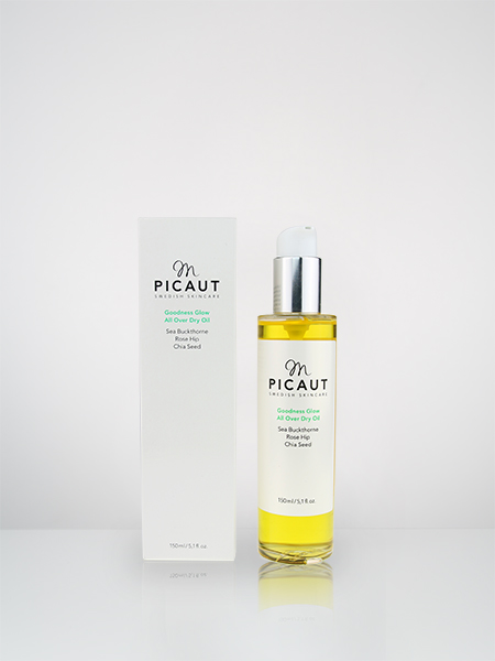 M Picaut Skincare Goodness Glow All Over Dry Oil