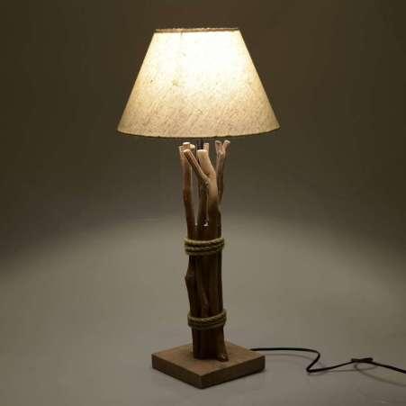 lampi din lemn