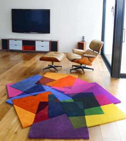 Cum alegi culoarea covorului